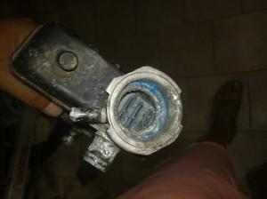 radiatore alla fine del trattamento